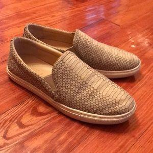 JSlides Croc-embossed Sneakers